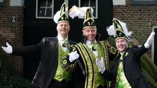 Hoogheden trio De Veldmuuskes uit Overdinkel