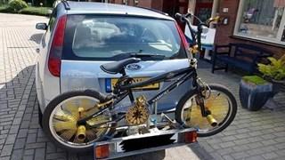 De uit Zwolle gestolen fiets