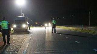 Grote politiecontrole bij Deventer