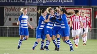 Zege dames PEC en Twente