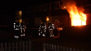 Woningbrand in Almelo