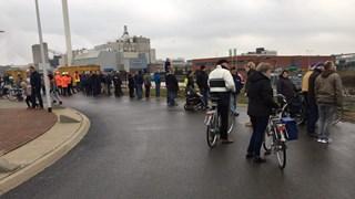 De Boekelosebrug in Hengelo wordt vandaag verscheept