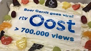 Boer Gerrit uit Usselo een van de best bekeken video