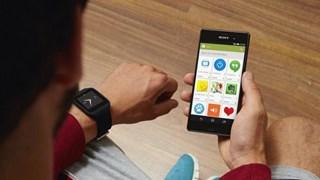 smartwatch met mobiel