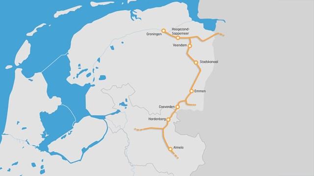 Steeds meer steun voor directe treinverbinding van Almelo naar Groningen - fotograaf: RTV Oost