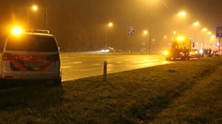 Vier auto botsen op elkaar op N348 tussen Deventer en Epse, rijstrook afgesloten