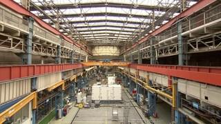 Fabriekshal van Siemens in Hengelo