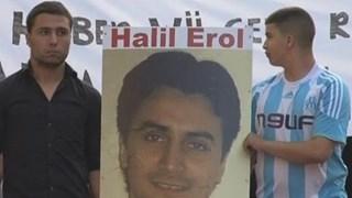 Halil Erol verdween in februari 2010