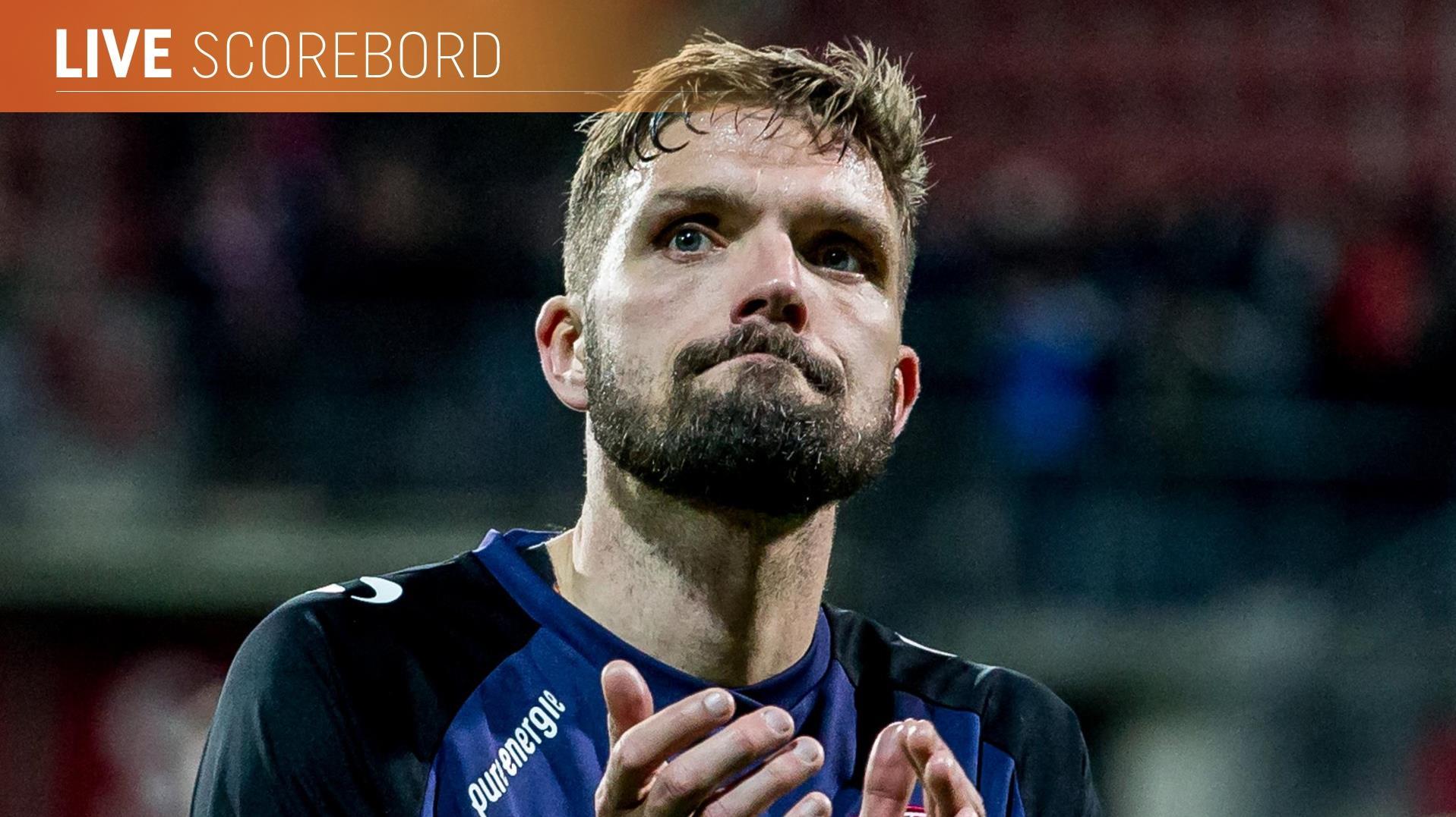 Live: Twente ontvangt Ajax, Heracles bij Willem II en HHC tegen VVSB