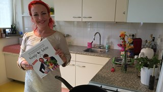 Arlette Swartjes en haar kookboek