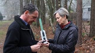 Johan de Ruyter en Jolanda van Dam hebben elektrohypersensitiviteit