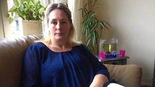 Voedselbankgebruiker Ingrid Waijenberg