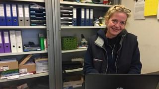 Karin Neijmeijer, vrijwilliger Voedselbank Deventer
