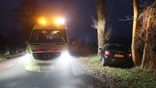 Auto knalt op boom in Losser