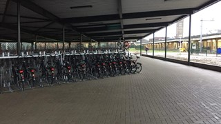 Fietsenstalling in Enschede