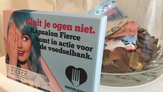 Doneren voor de Voedselbank kan bij Kapsalon Fierce in Raalte