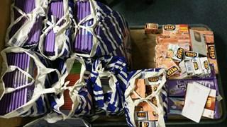Honderden repen chocolade gestolen in Wijhe