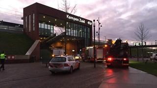Incident op station Kampen-Zuid