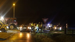 Gewonden bij ongeval op de Hexelseweg in Wierden