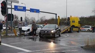 Ongeval op kruispunt De Knoop in Deventer