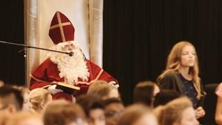 Sinterklaas op de Van de Capellen in Zwolle