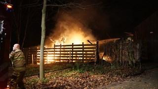 Brand op camping in Deventer