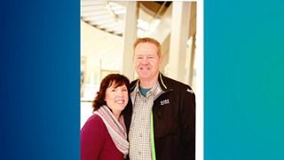 Leanne en Pete Bentley zochten en vonden hun reddende engel in Kampen