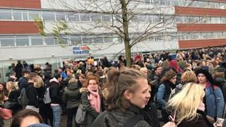Brand ROC van Twente in Almelo