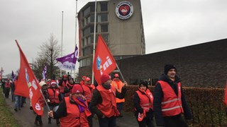 Protestactie Zwanenberg in Almelo