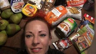 Arlette Swartjes was een week lang gebruiker van de Voedselbank