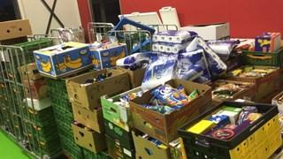 Inzamelingsactie Raalte levert 380 gevulde kratten op voor de Voedselbank