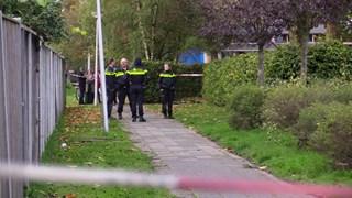 De politie onderzoekt de aanrijding in de wijk Wesselerbrink