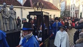 Queen Victoria een van de personages Dickens Festijn