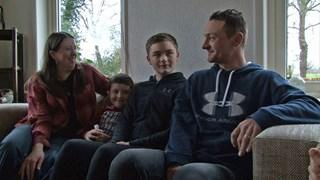 Lennart kan gourmetten met zijn gezin dankzij 'All You Need Is Love'