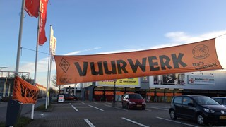 Vuurwerkplein Runshopping Centre De Snipperling Deventer