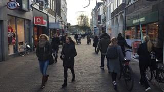 Korte Bisschopsstraat in de Deventer binnenstad