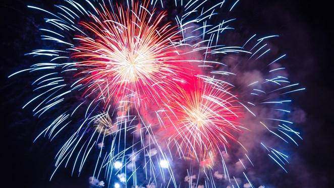 VIDEO: Zo luidde Goor het nieuwe jaar in
