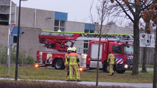 Brand in slooppand enschede