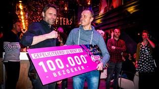 100.000ste bezoeker Hedon