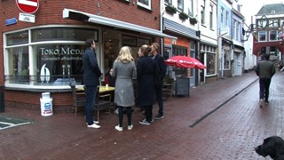 Oliebollenprotest in Kampen