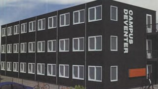 Ontwerp studentenwoningen Deventer