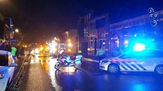 Politie heeft straat afgezet