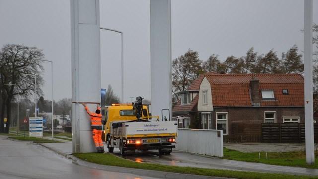 Loszittend paneel Dolderbrug in Steenwijk - fotograaf: Arnaud Vaartjes