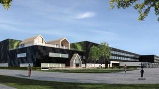 Impressie van de logistieke campus in Almelo