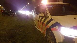 Politie heeft A35 afgesloten