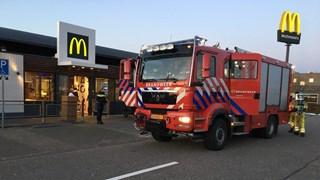 Brand in de McDonalds in Hardenberg