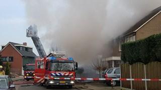Veel rook bij brand in Oldenzaal