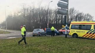 Gewonde bij ongeluk in Balkbrug