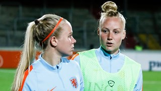 Kika van Es en Danique Kerkdijk