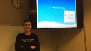Mick Landman heeft patiënt geholpen met stamceldonatie